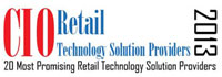 Top 20 Retail Technology Solution Companies - 2013