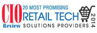 Top 20 Retail Tech Solution Companies - 2014